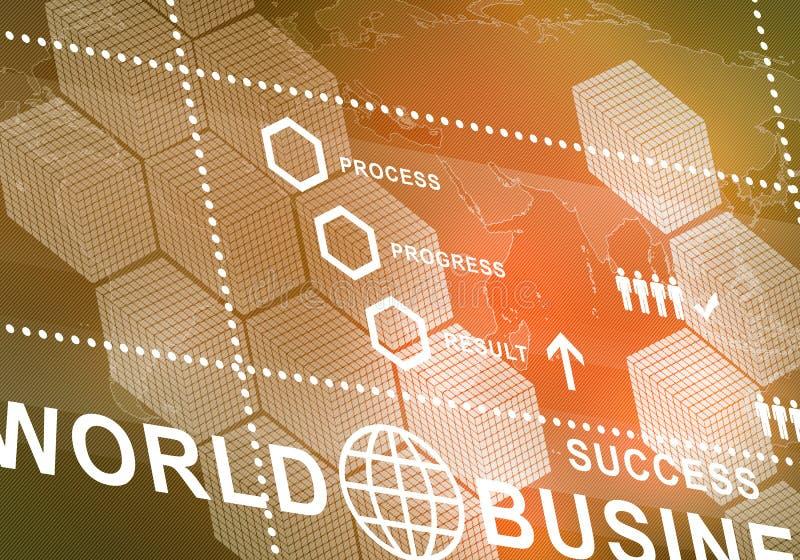 Digitaler Hintergrund des abstrakten Geschäfts lizenzfreies stockbild
