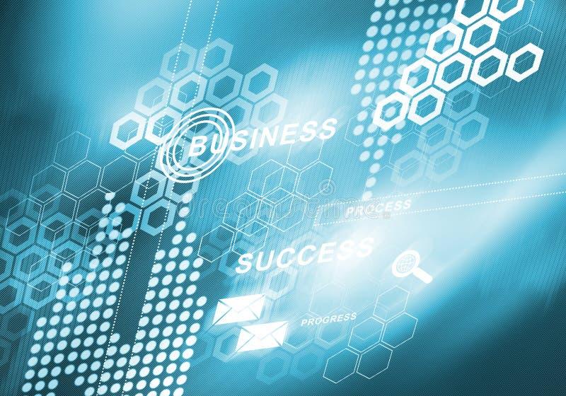 Digitaler Hintergrund des abstrakten Geschäfts stockbilder