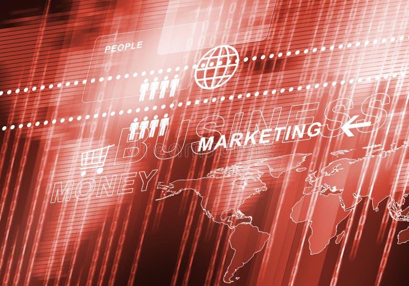 Digitaler Hintergrund des abstrakten Geschäfts stockfotos