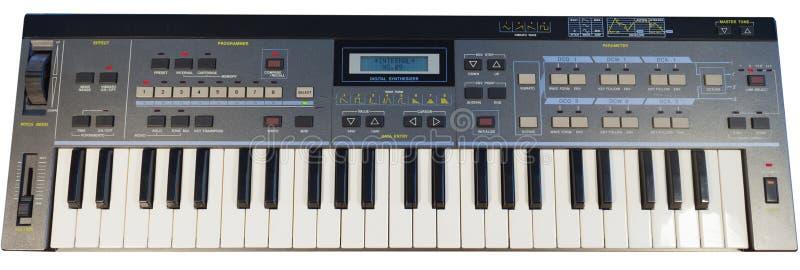 Digitaler synthesizer der Weinlese stockfotos