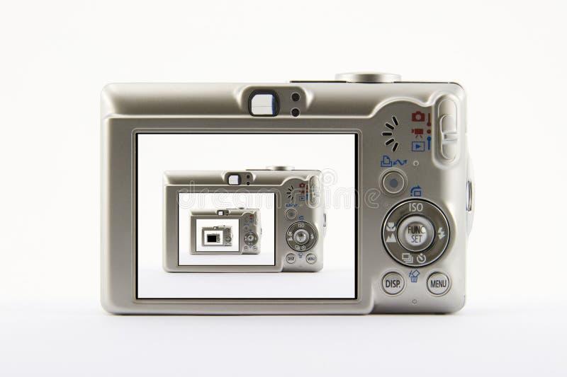 Digitalkamera. stockfotografie