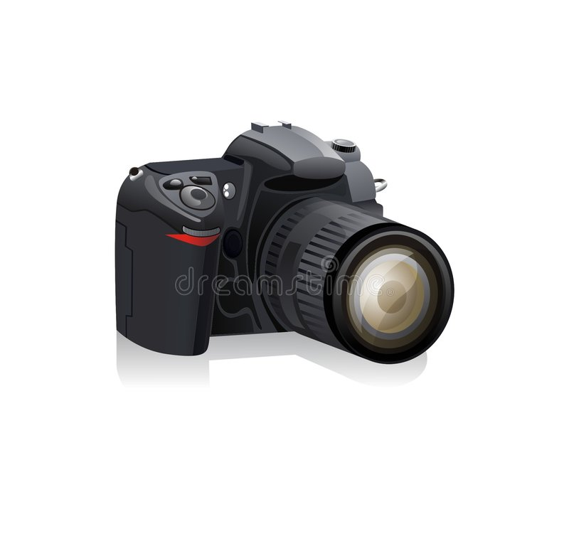 Digitalkamera   lizenzfreie abbildung