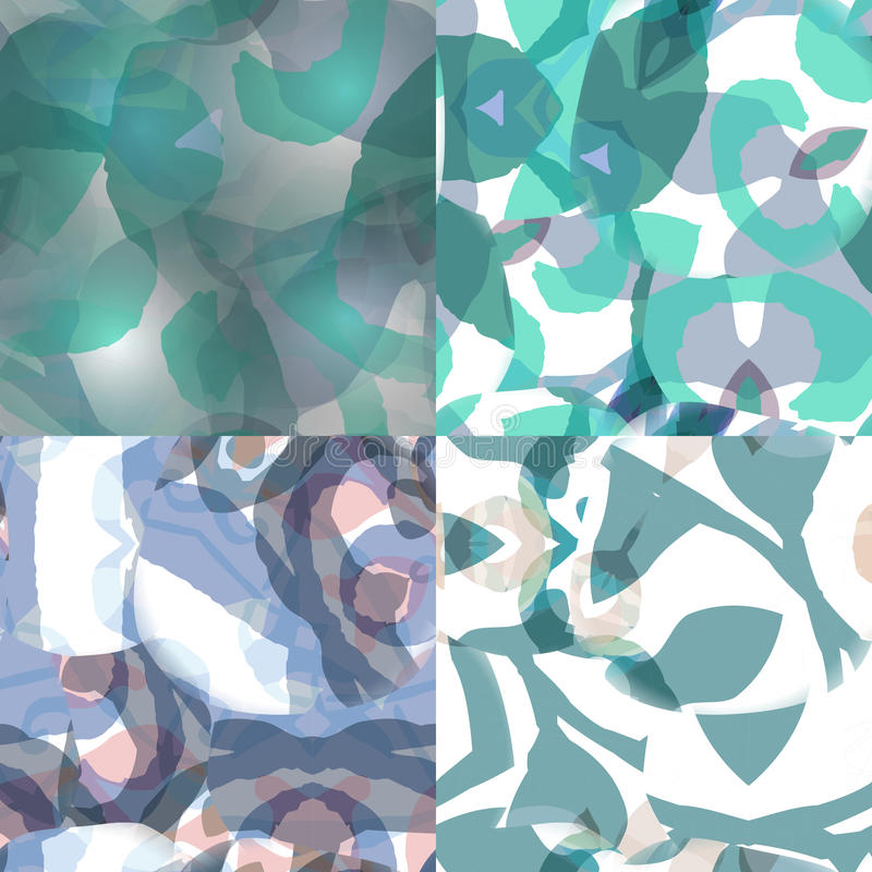 Digitally created seamless colorful texture. Abstract background for use in web projects and printed media. Grungy tile, design element for wallpapers and royalty free illustration