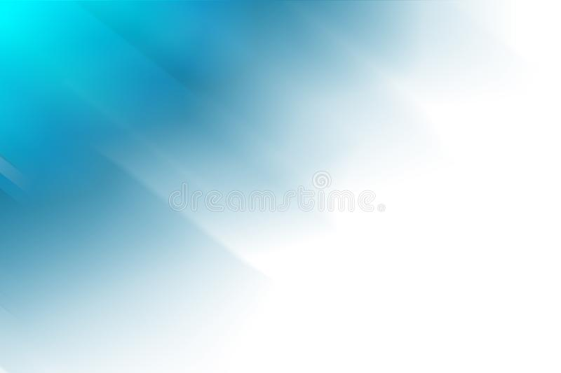 Digitally generated blue and white abstract background.  stock illustration