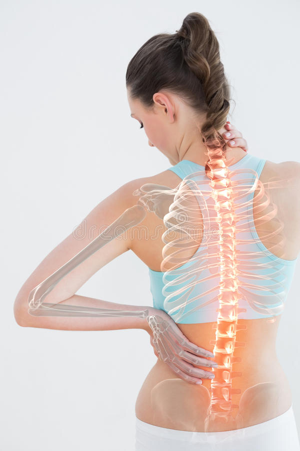 Free Digitally Generated Image Of Female Suffering From Muscle Pain Royalty Free Stock Photography - 93245997