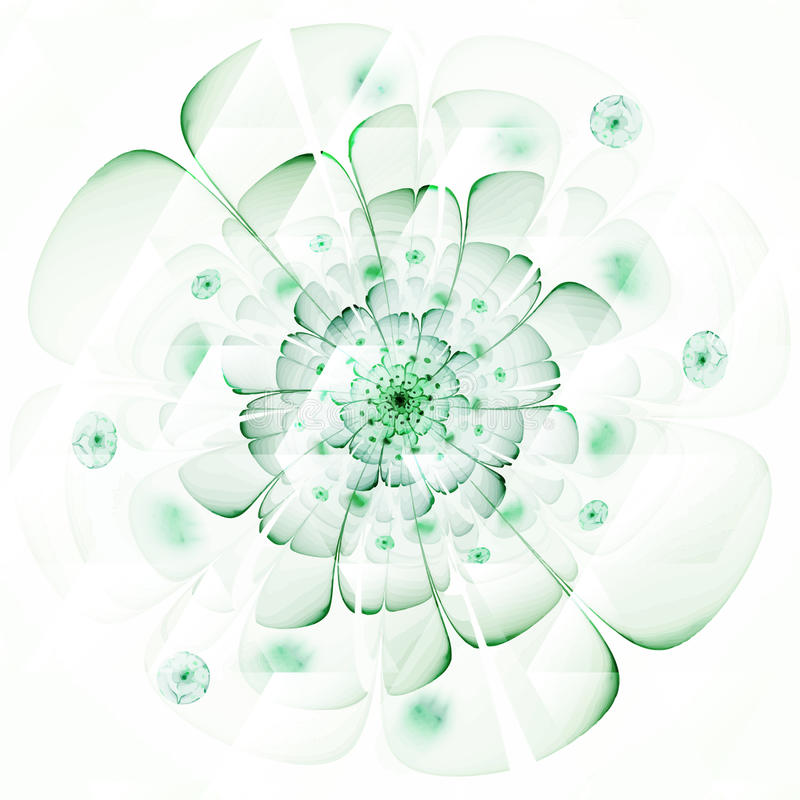 Digitally recreated watercolor flower texture. Abstract background for use in web projects and printed media stock illustration