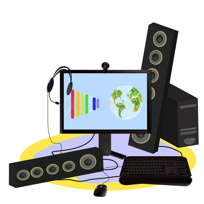 Download Digitally Technology. Stock Photo - Image: 13894160
