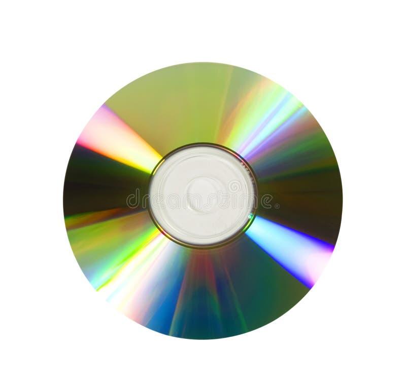Digitalschallplatte oder DVD stockfotografie