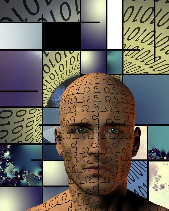 digitalt begrepp vektor illustrationer