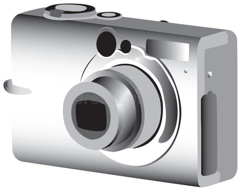 digitalt foto för kamera vektor illustrationer
