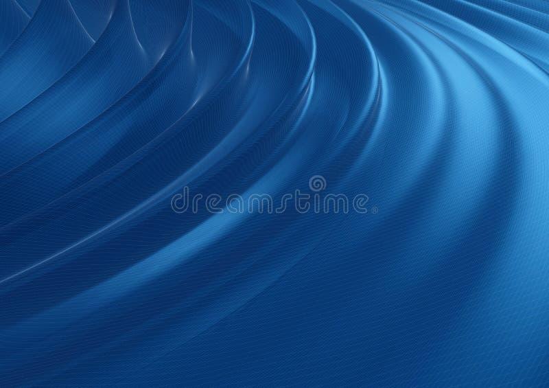 digitalt vatten royaltyfri illustrationer