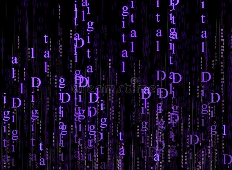 Digitaltechnik lizenzfreie abbildung