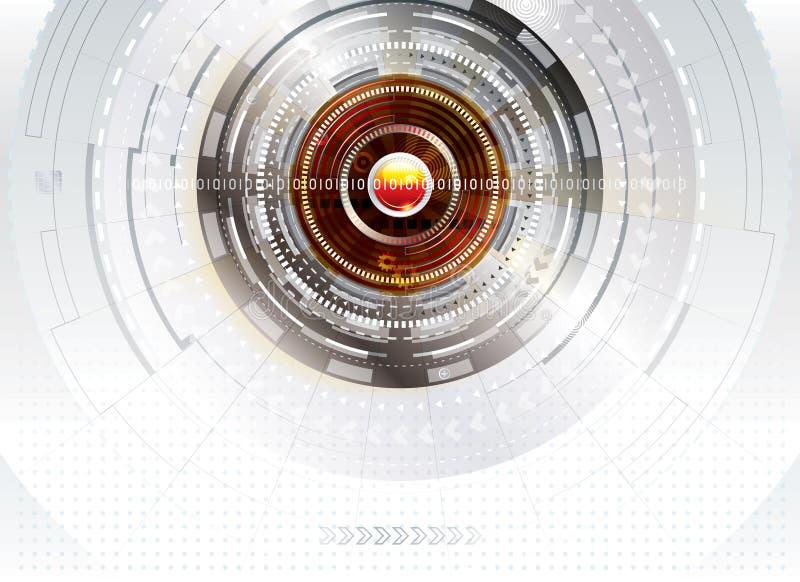 Digitaltechnik-Hintergrund lizenzfreies stockbild