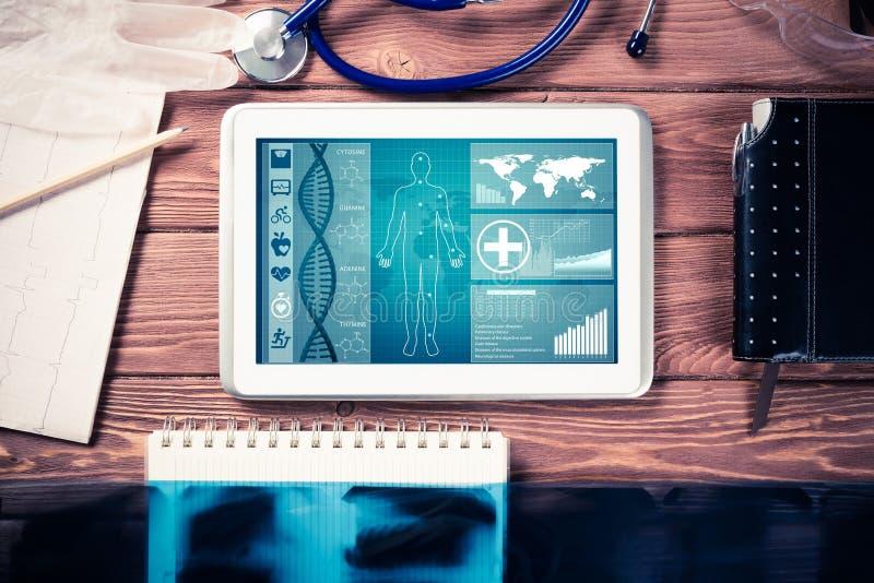 Download Digitaltechniken In Der Medizin Stockbild - Bild von tastatur, wissenschaft: 96927217