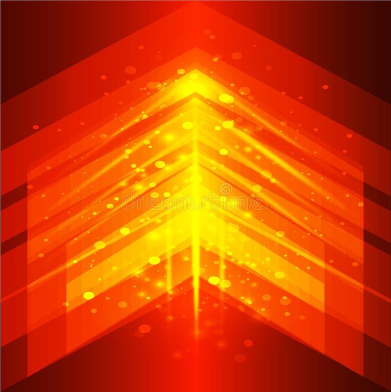 Digitaltechnikkonzept des Vektors, abstrakter Hintergrund Abstrakter vektorhintergrund stock abbildung