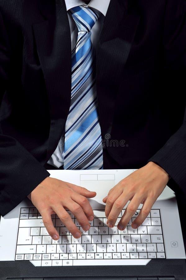 Battitura a macchina del computer