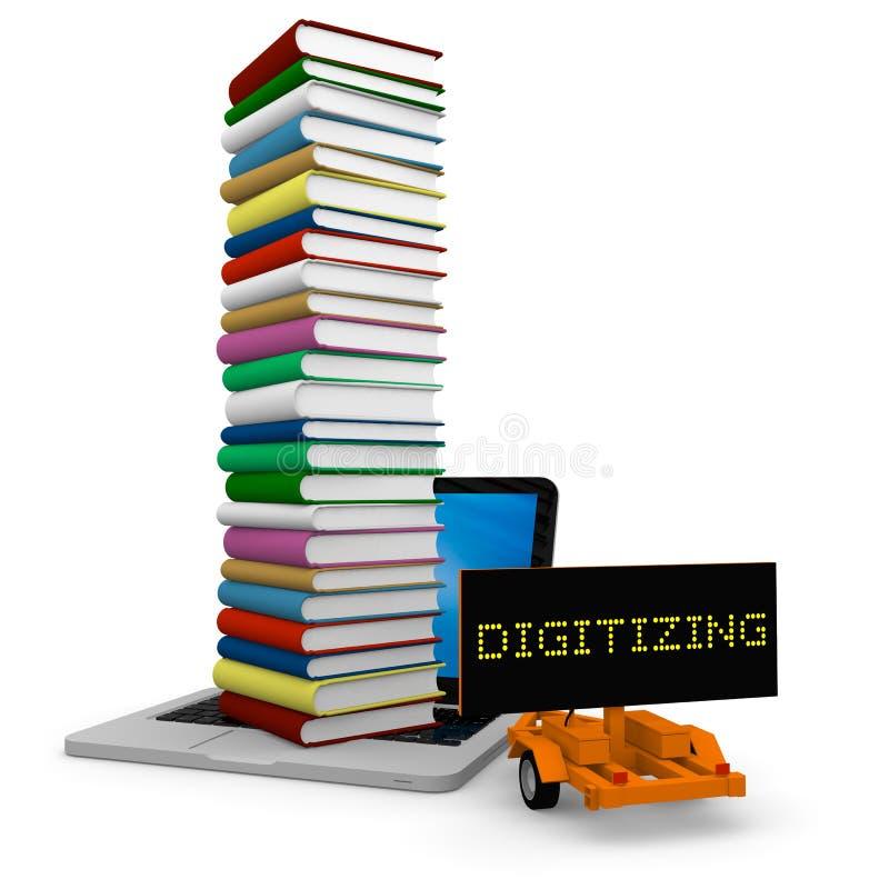 digitization stock illustrationer