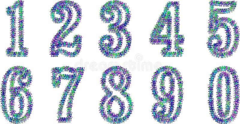 Download Digits stock illustration. Image of decimal, prices, management - 20082331