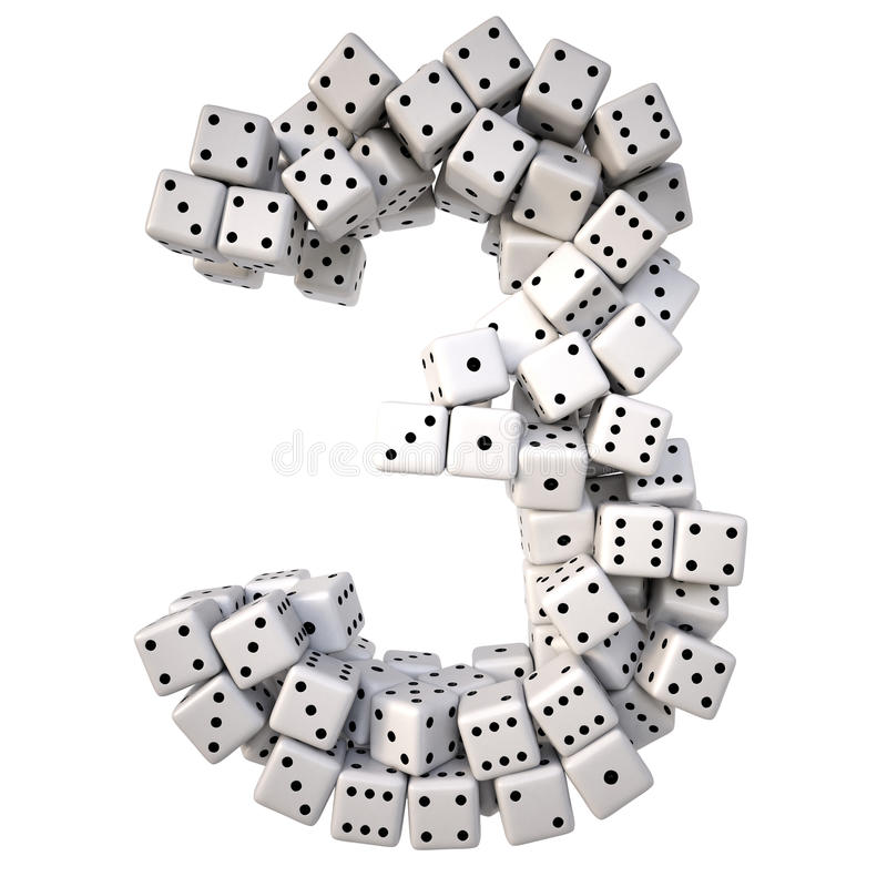 digits stock abbildung