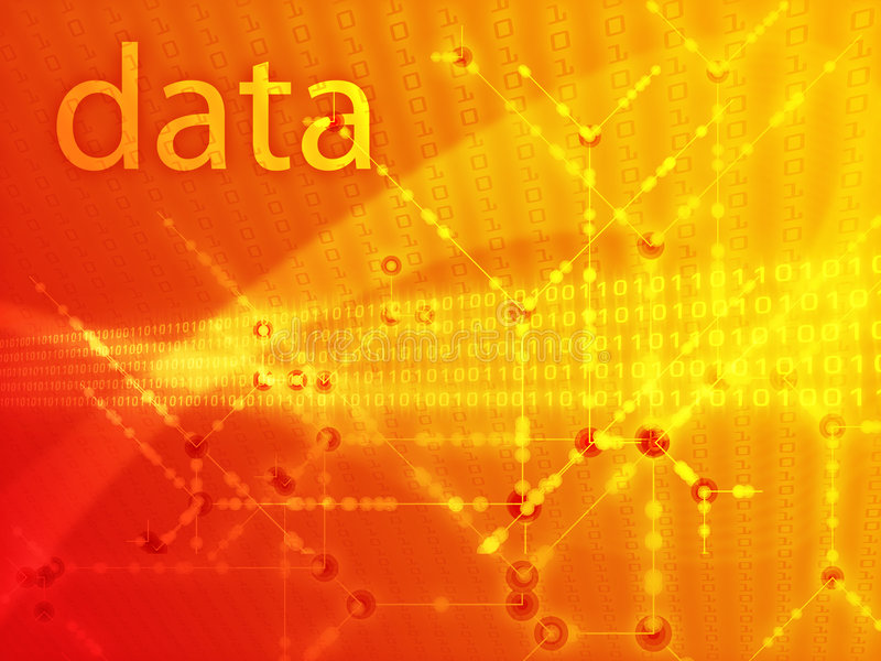 Download Digits data illustration stock illustration. Image of coding - 6933645