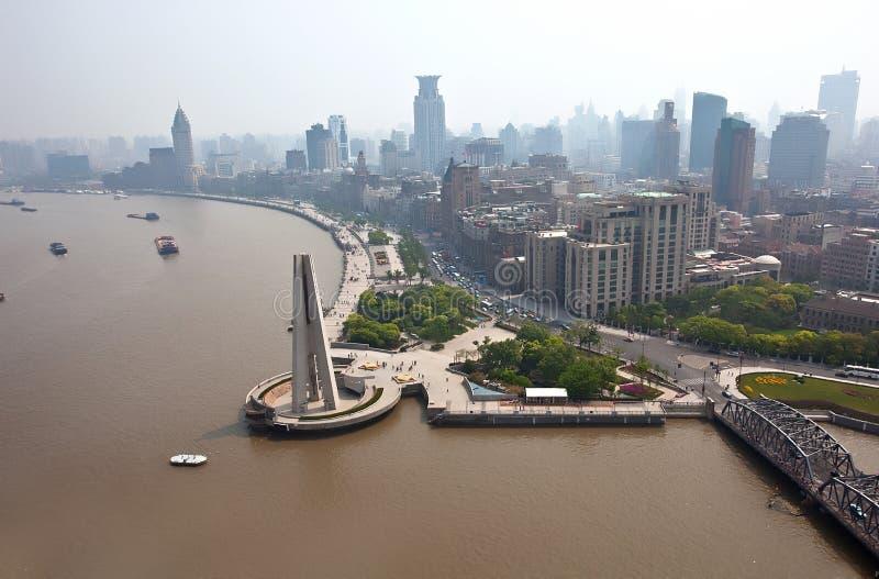 Digue de Changhaï photographie stock