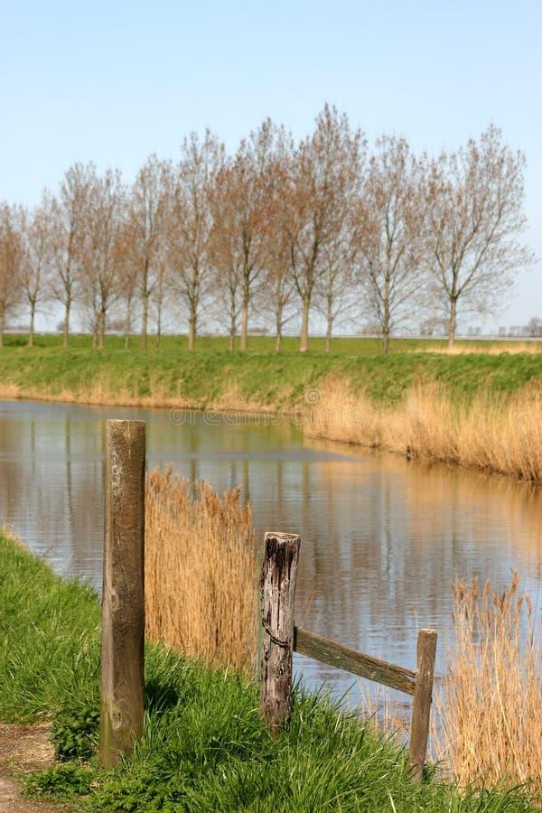 Download Digues photo stock. Image du hollandais, holland, bleu - 734686