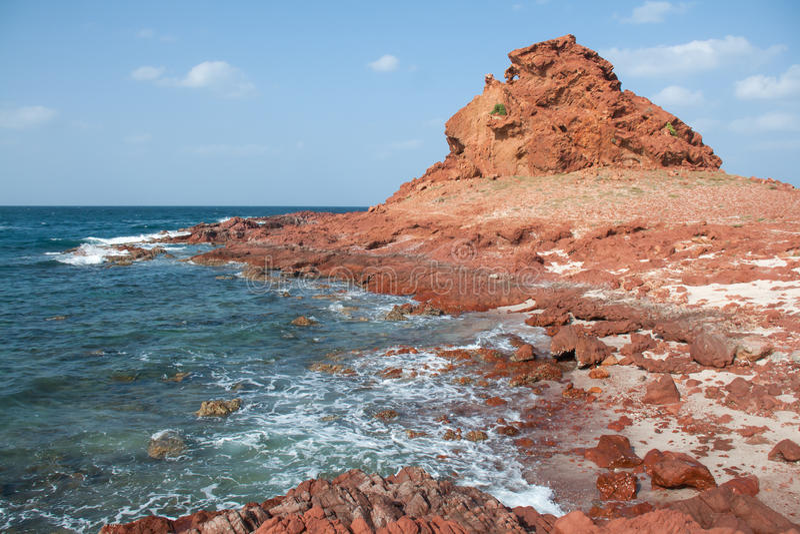 Dihamri Marine Protected Area - Socotra, Yemen foto de archivo