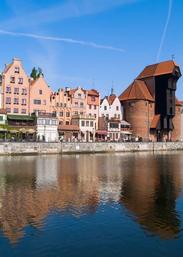 Dijk van Motlawa rivier, Gdansk