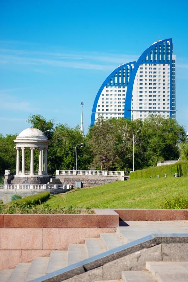 Dijk van Volgograd royalty-vrije stock foto's