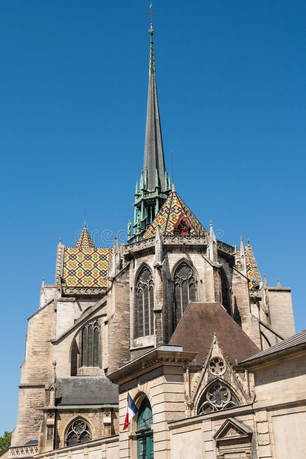 Free Dijon Cathedral In The City Of Dijon, France Royalty Free Stock Photo - 67614105