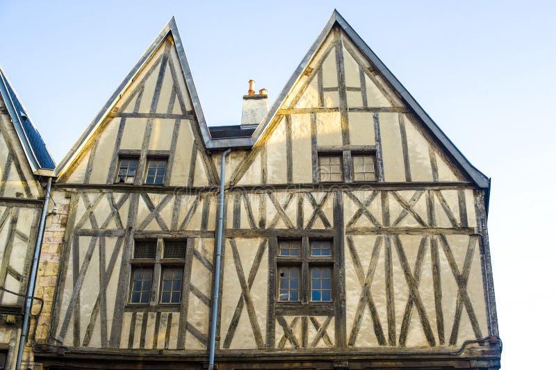Dijon - edificios imágenes de archivo libres de regalías