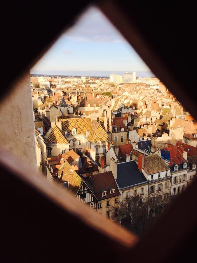 Dijon en miniature photo stock