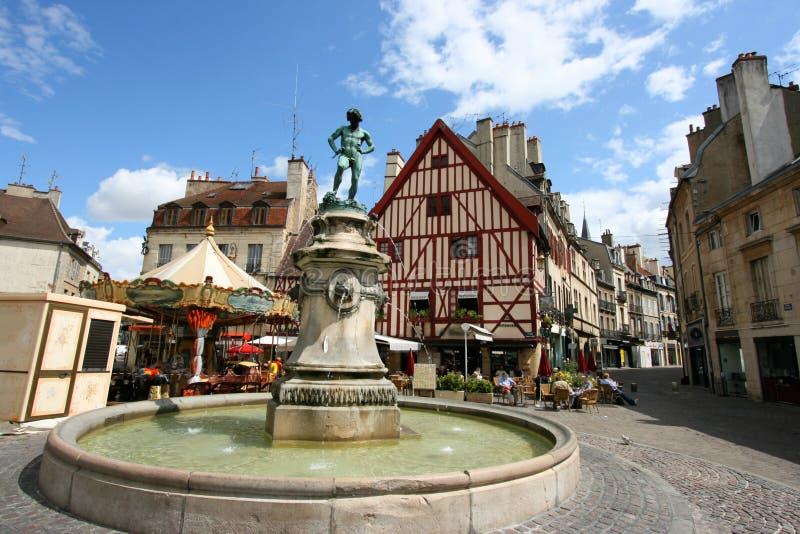Dijon, Frankreich stockbild