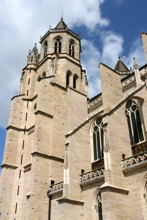 Dijon-Kathedrale stockbilder