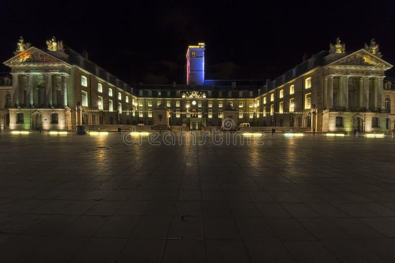 Dijon na noite imagens de stock royalty free