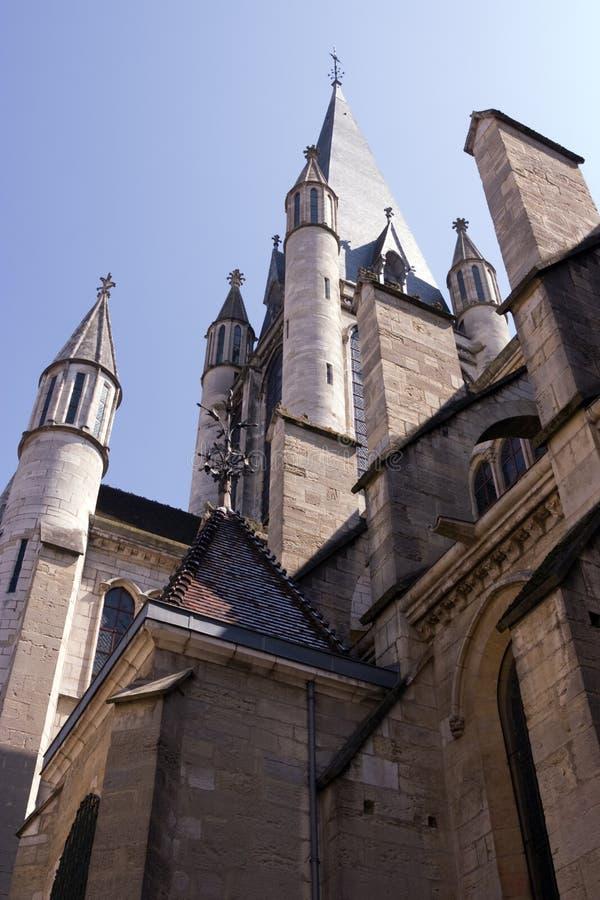 Dijon-Stadt lizenzfreie stockbilder