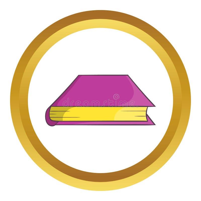 Dik boekpictogram vector illustratie