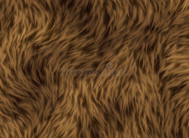 Dikke dierlijk haartextuur stock foto's
