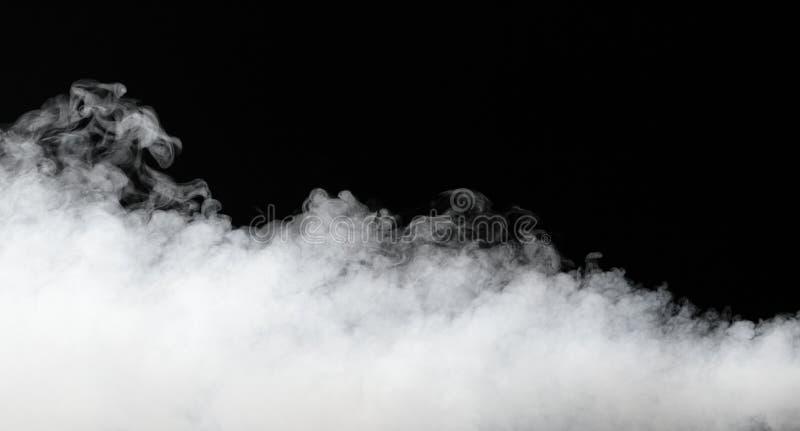 Dikke stroom van mist stock afbeeldingen