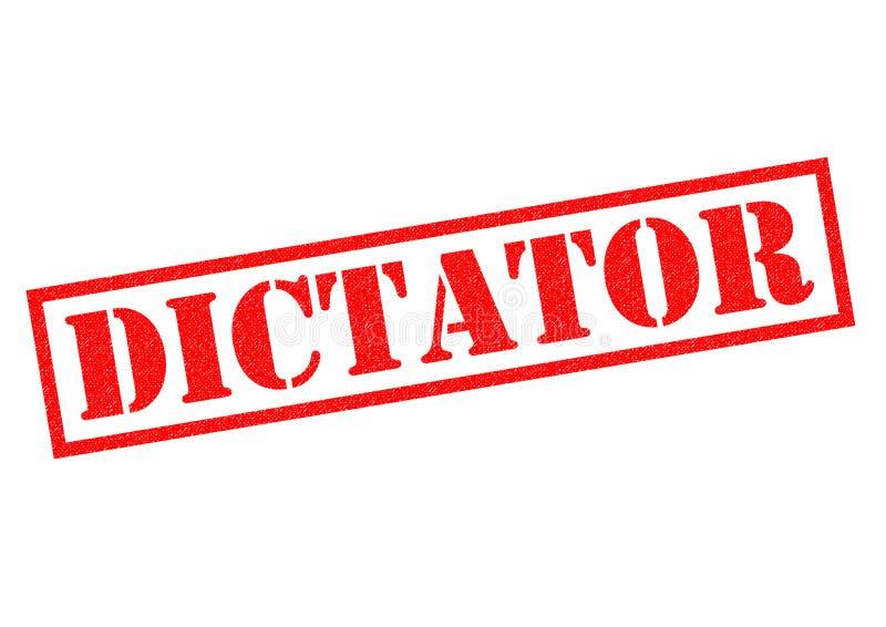 diktator royaltyfri illustrationer