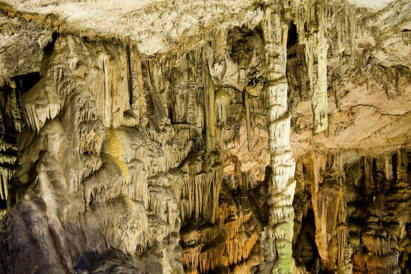 Dikteo Andro Cave royalty free stock photo