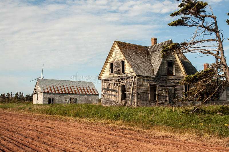 Dilapidated Dwelling Royalty Free Stock Photos