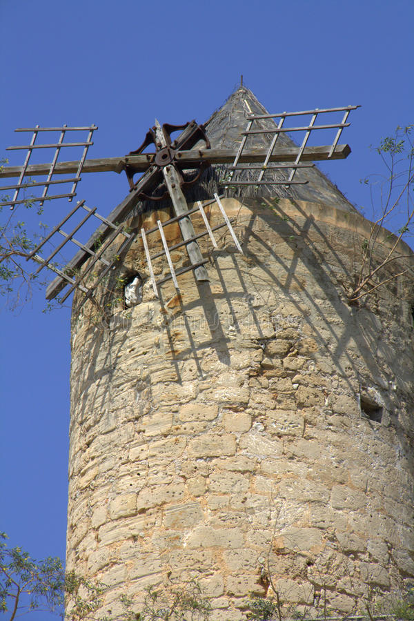 Download Dilapidated windmill stock photo. Image of exterior, outside - 19115360