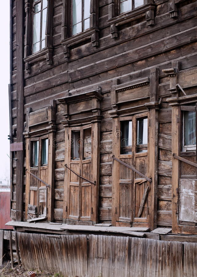Download Dilapidated Wooden Building Stock Photo - Image: 24630468
