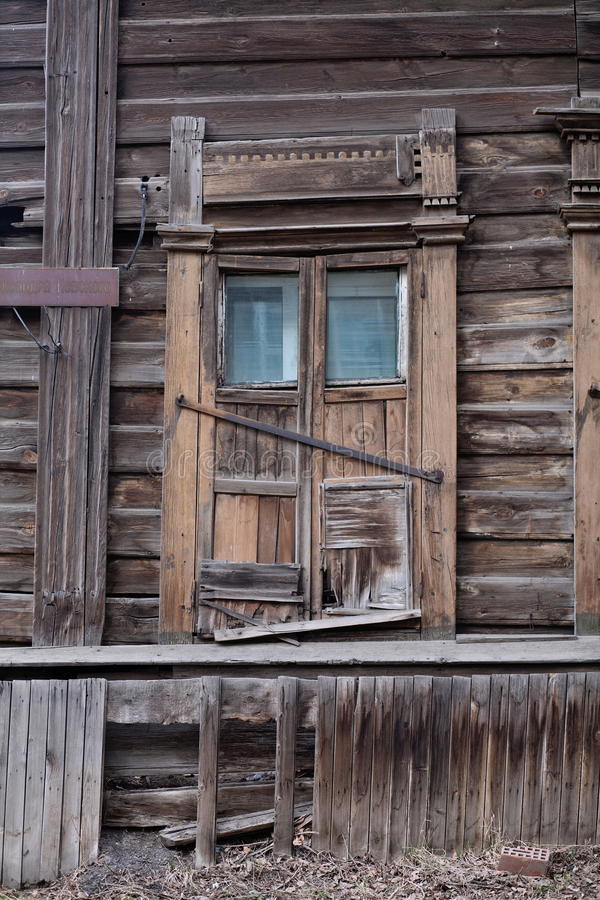 Download Dilapidated Wooden Building Stock Photo - Image: 24630498