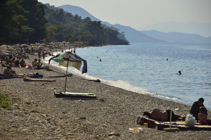 Dilek yarımadası-Bà ¼ yà ¼ k Menderes Deltası Milli Parkı Turkije royalty-vrije stock afbeelding