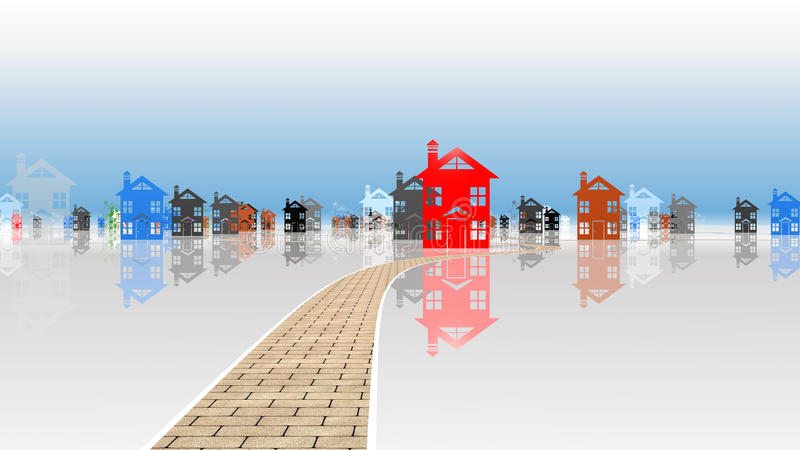Download Dilema Housing Selection Stock Photo - Image: 20233360