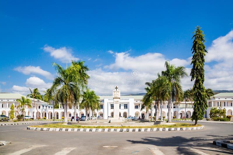 Dili, Timor Oriental, Palacio hace Governo de Timor-Leste El palacio del gobierno de Timor Oriental fotografía de archivo libre de regalías