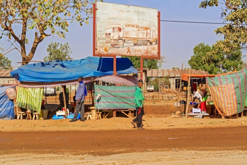 Dilla i Etiopien royaltyfria bilder