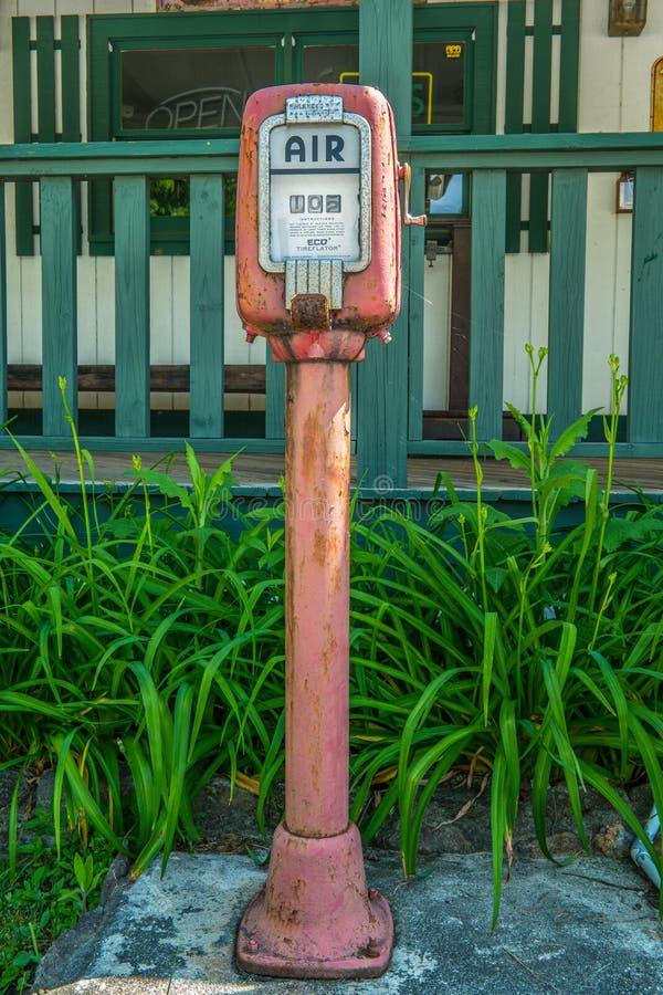Dillard, pompa di aria antica Georgia/USA-5/20/18 immagine stock